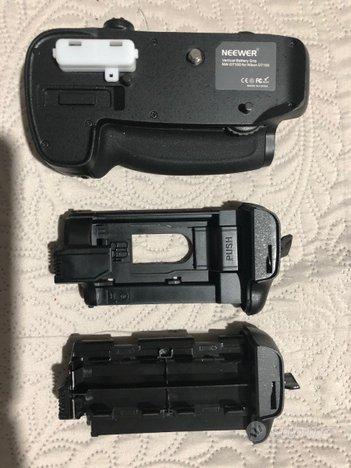 MB-D15 impugnatura per Nikon 7100 - 7200 DSLR