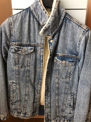 Giacca jeans uomo Pull and Bear