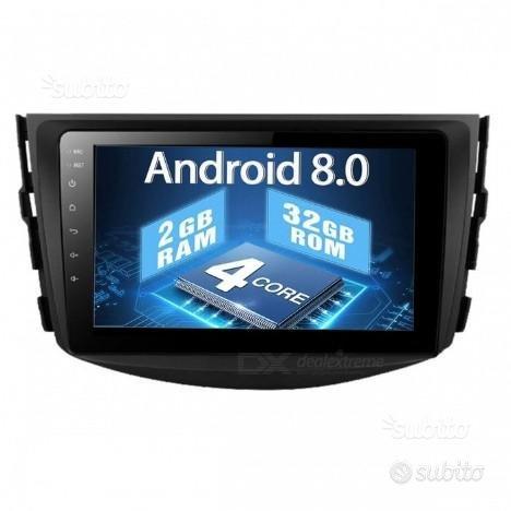Autoradio navigatore toyota rav 4 android hd dab
