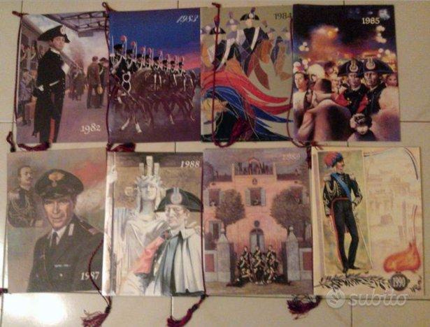 Calendari Storici Carabinieri 78pz