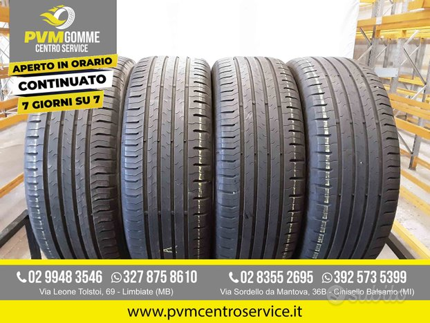 Gomme usate 215 55 17 94v continental