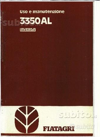 Manuale di uso e manut. per Laverda 3350 e 3350AL: libri e ...