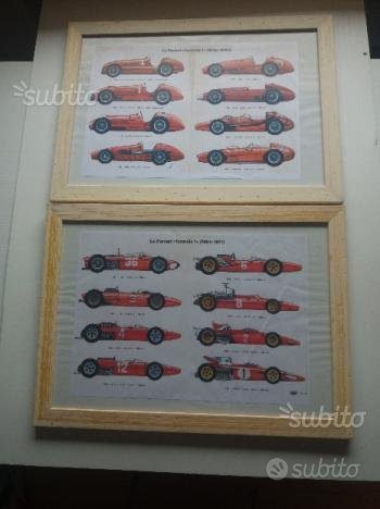 Riproduzioni modelli Ferrari F1 dal 1948 al 1971
