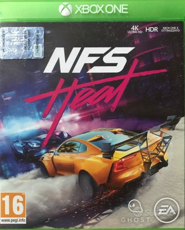 Need for speed heat X box one