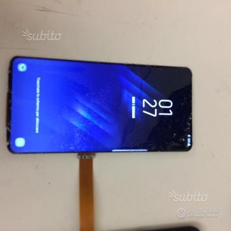 Riparazione solo vetro Samsung s10, s8,s9,note 8-9