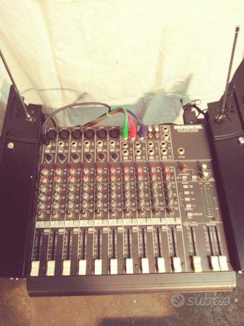 Mixer con radiomicrofono