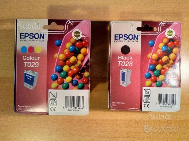 Cartucce Epson T028, T029