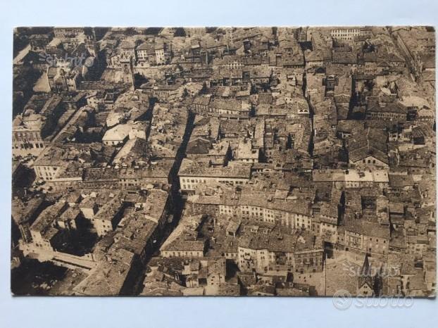 Cartolina aerea di Trento