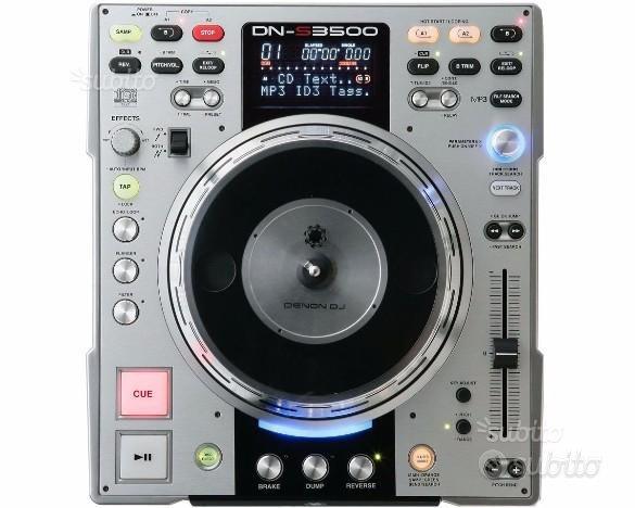 Denon S 3500 Lettore Professionale DJ Cd mp3 Nuovo