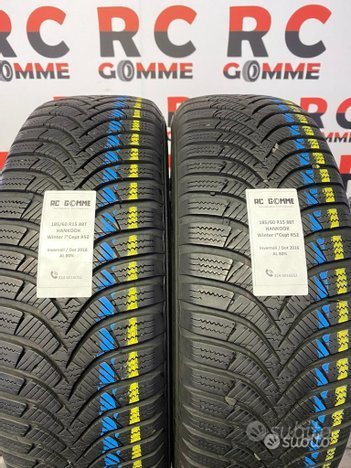 2 gomme Usate 185 60 15 88T Hankook invernali