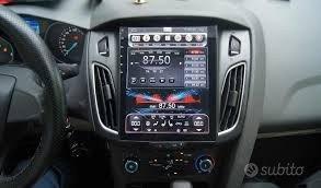"Autoradio navigatore ford focus tesla style 10,4"""