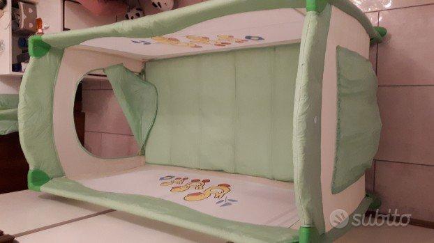 Lettino campeggio 60x125 cm.cpl di materasso