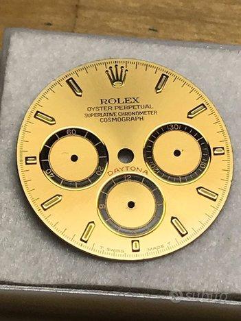 Rolex daytona 16528/16523 quadrante quattro scritt