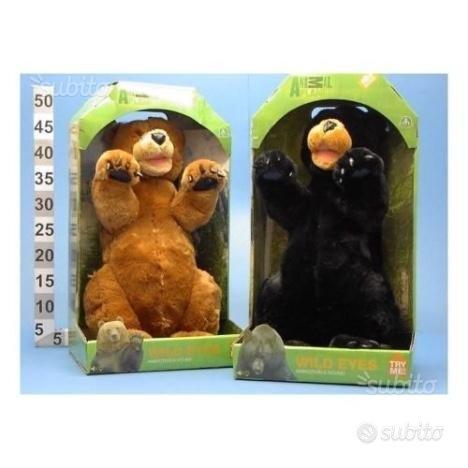 NUOVI Giochi preziosi peluche ANIMAL PLANET orso