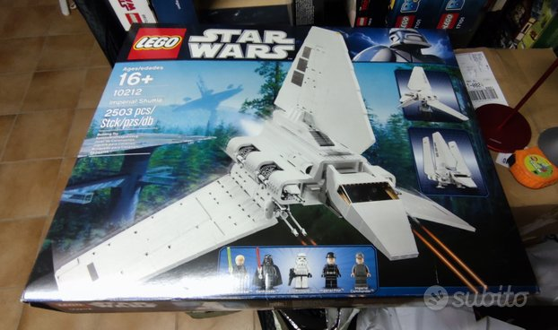 Lego Star Wars 10212 Imperial Shuttle UCS Nuovo