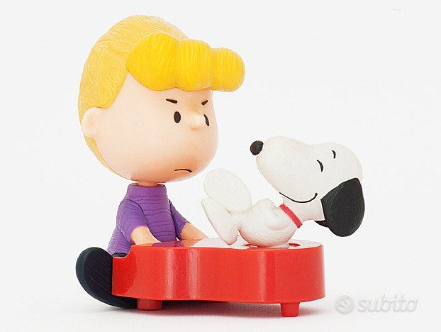 Schroeder e Snoopy Piano Happy Meal McDonald's