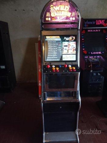 Videogioco multigioco cabinato arcade jamma