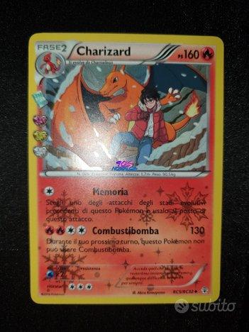 Pokemon Charizard Generazioni Radiant Holo RC5