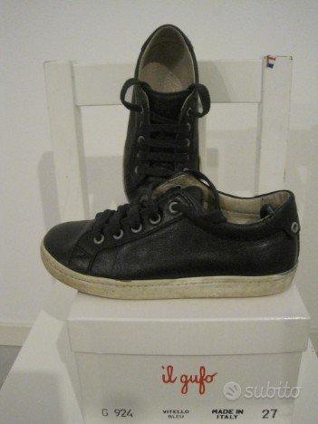 Sneaker tennis Il Gufo n.27 Bimba