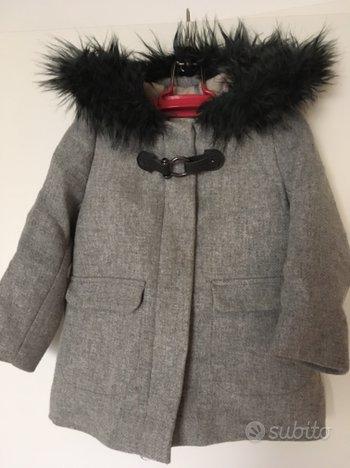 Cappotto bimba 3-4 anni