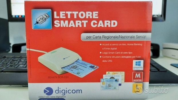 Digicom lettore smart card scr-c01 usb 2.0