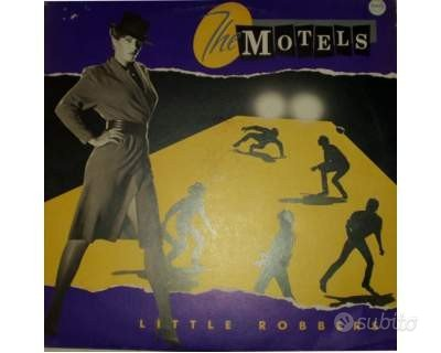 The motels - little robbers - lp