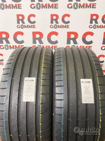 2 Gomme Usate 245 45 18 100W Goodyear est