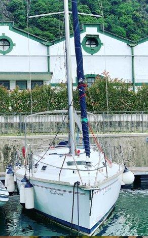 Barca a vela Hunter Legend 28