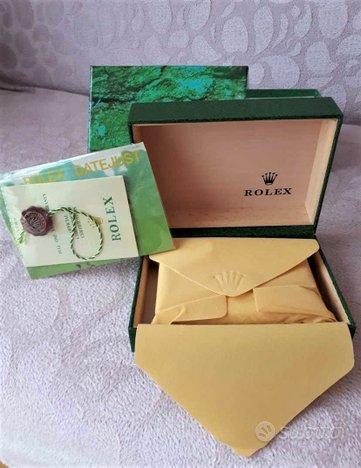 Box per orologi Rolex Omega Tag Heuer Breitling