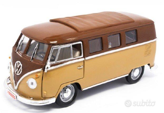 Modellino Auto 1962 VOLKSWAGEN Microbus