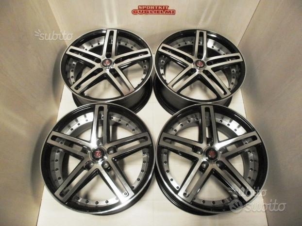 """Cerchi in lega AXE EX20 Black Polished 19"""" 5X112"""