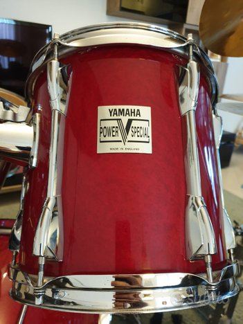 Perfect Yamaha Power V Special Set Made in England