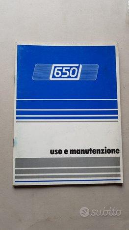 Innocenti 650 1986 Manuale Uso Manutenzione epoca