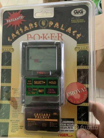 Poker Elettronico Gig Tiger Caesars Palace nuovo