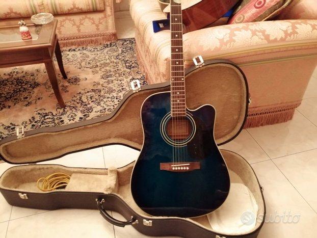 Chitarra acustica elettrica