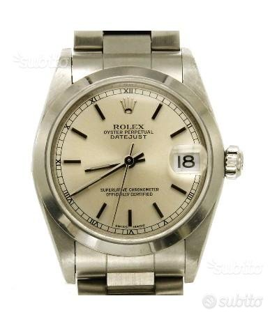 Rolex oyster perpetual datejust - Ref. 78240