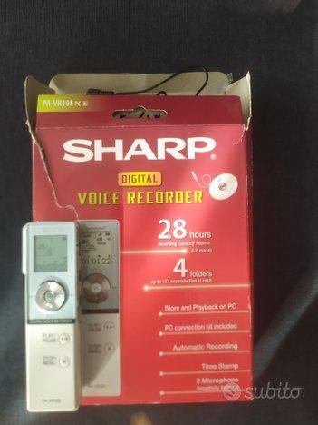 Registratore vocale Sharp
