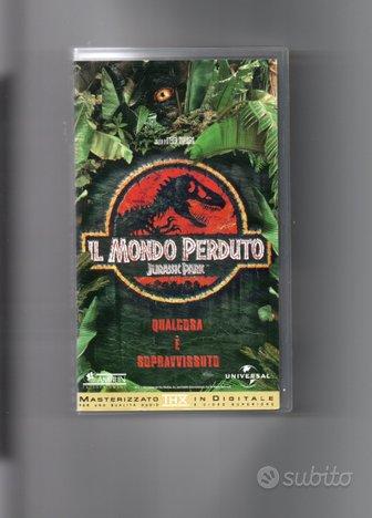Jurassic Park, il mondo perduto, VHS originale