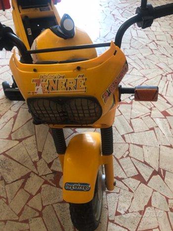 Moto Tenere' Peg Perego elettrica per bambini