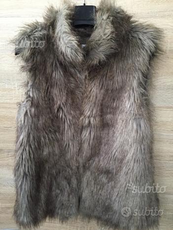 Smanicato in pelliccia ecologica