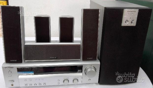 Home theatre Kenwood 5.1 canali completo