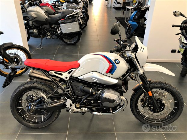 BMW R nine T - Bianco