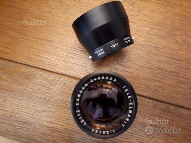 Leitz Canada Leica Tele-Elmarit 1:2.8/90 90mm F2.8