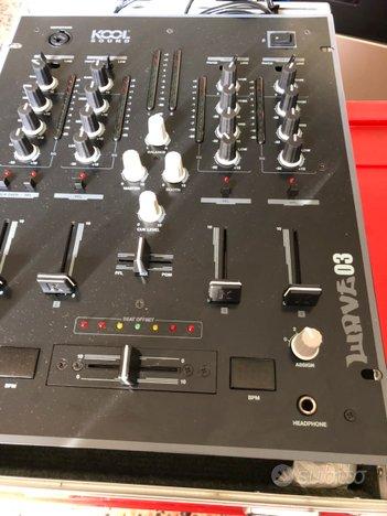 Mixer dj Kool sound e Flight case