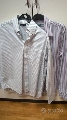 Camicie di marca usate pochissimo