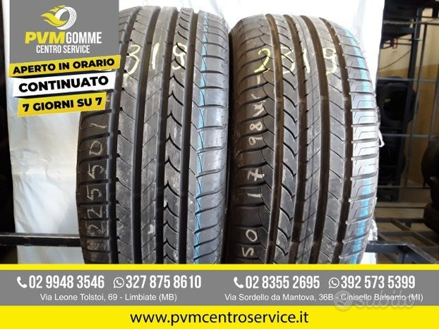 Gomme usate:225 50 17 98w goodyear