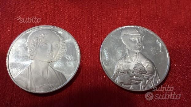 Medaglie argento fdc