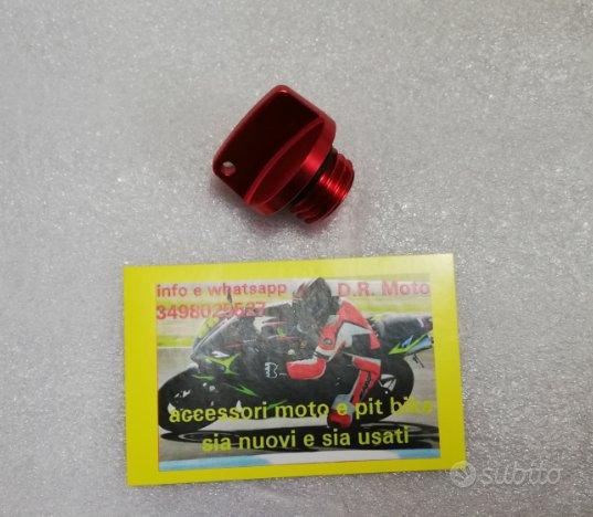 04. Tappo olio ergal moto scooter motore