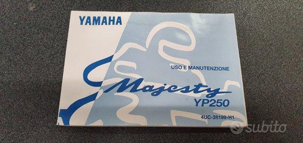 Uso e manutenzione yamaha majesty 250 4uc28199h100