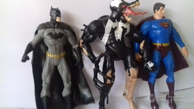 Lotto super venom batman dc superman